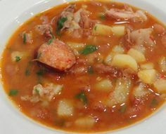 Soup Recipes, Cooking Recipes, Healthy Recipes, Recipies, Portuguese Recipes, Portuguese Food, Soup And Sandwich, Home Food, Soup And Salad