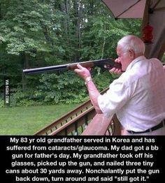 Badass grandpa!