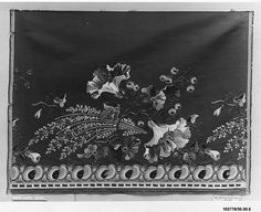 Dress Border Date: early 19th century Culture: French Medium: Silk and metal thread on silk Dimensions: L. 16 1/2 x W. 22 inches (41.9 x 55.9 cm) Classification: Textiles-Embroidered Credit Line: Gift of The United Piece Dye Works, 1936