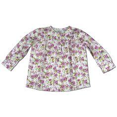 camicia in fantasia floreale www.milobito.it