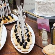 Blackberry Cheesecake Bites + Harvest Honey Cake