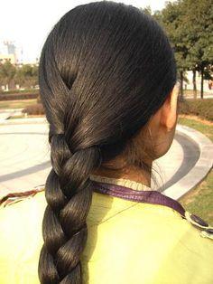 Braid close up Open Hairstyles, Braided Hairstyles, Braids For Long Hair, Braid Hair, Ponytail, Beautiful Braids, Beautiful Hairstyles, Long Dark Hair, Beautiful Girl Indian