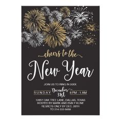 black and gold new years eve party invitations newyearseve happynewyear festivities newyear