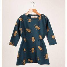 Bobo Choses Toddler Dress with Peanuts #designer #kids #fashion
