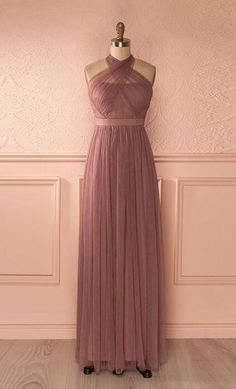 Cute tulle Prom Dress,Long Prom Dress,Cheap prom Dress,Chiffon