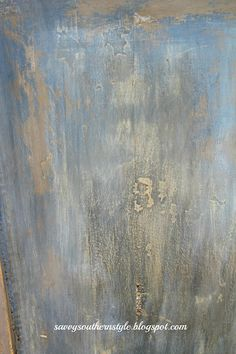 beautiful patina in ASCP Louis Blue & Greek Blue