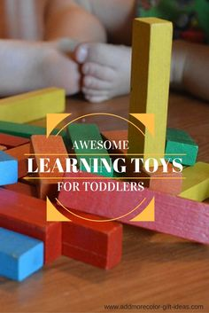 It is never too early to have fun learning when you get these best learning toys toddlers would enjoy so much! And parents would definitely approve and appreciate them