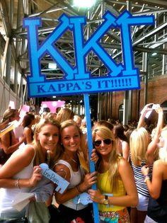 Kappa Kappa Gamma Bid Day!