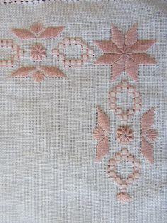 Risultati immagini per pinterest sfilature ricamo punto antico