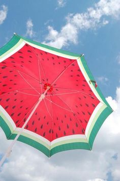 You'll have it made in the shade with this adorable #watermelon #umbrella