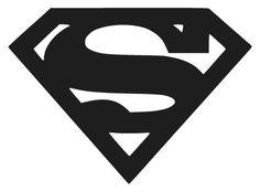 Superman Logo Vinyl Decal – Decals N Superman Logo, Batman, Superman Tattoos, Superman Silhouette, Bat Symbol, Silhouette Images, Silhouette Portrait, Man Of Steel, Steel Dc