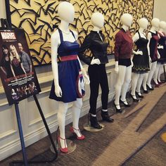 Take a look at the @heruniverse fashion collection for #hottopic designed by last year's #SDCCgeekcouture winners! Who will be next to work with Hot Topic and Her Universe? Find out tonight! Manchester Grand Hyatt, 6pm. #marvelbyheruniverse #SDCC2015 #SDCC #hottopic