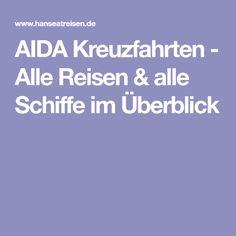 AIDA Kreuzfahrten - Alle Reisen & alle Schiffe im Überblick