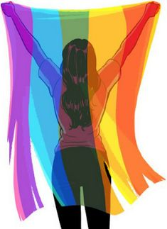 lgbtq art Source by eshanaroth Lesbian Art, Lesbian Pride, Gay Art, Lgbt Love, Lesbian Love, Lgbt Flag, Pansexual Pride, Gay Aesthetic, Rainbow Aesthetic
