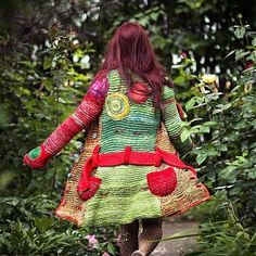 Ergahandmade - Inspirational use of Color & Shape. Interesting/Creative Embellishments...