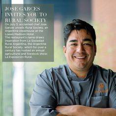 Rural Society, an Argentine steakhouse at the Loews Madison Hotel will open July 3, 2014.