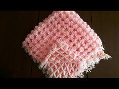 Baby Pom Pom Blanket Loom ( Ponponlu bebek battaniyesi yapımı) - YouTube