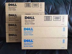 Dell Laser Printer Toner 3000cn/3100cn Assorted Colors