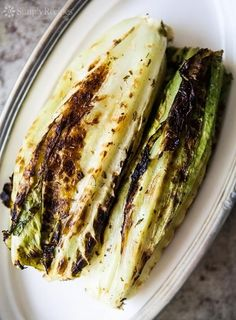 Grilled Romaine Lett