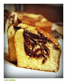 una cucina: Το κέικ της Δευτέρας: Αφράτο τρυφερό και δίχρωμο! Greek Pastries, Marble Cake, Almond Cakes, Cheesecakes, French Toast, Muffin, Sweets, Cooking, Breakfast