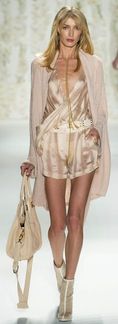 #Rachel Zoe Spring Summer 2013 Ready-To-Wear Collection♥   #Trend Neutrals #Trend Shine