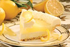 Best Lemon Supreme Pie! Tippin's famous flaky crust is filled with a sweet cream cheese and topped with award winning lemon filling and real whipped cream.