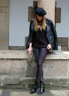 Andadas por Avilés con toque parisino. Look estilo Bohemio 2014.