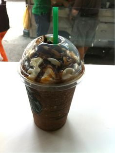 Snickers Frappuccino - 39 Starbucks Secret Menu Items You Didn't Know About Until Now