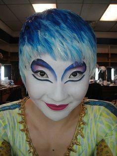 Cirque Du Soleil Make up from Alegria show