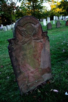 Katrina Van Tassel's grave at Sleepy Hollow Cemetery, Tarrytown, NY  Catriena Ecker Van Tessel