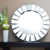 "Found it at AllModern - Pacific 35.5"" H x 35.5"" W Wall Mirror"
