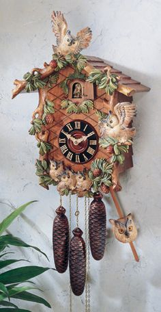 Unusual Cuckoo Clocks owl cuckoo clock - google search @hannah nunnally | for the home