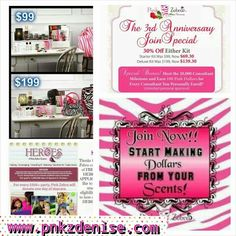 Need xtra money?  Join my team and watch your new business take off.  www.pnkzdenise.com