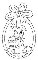 Easter Bunny Colouring, Easter Coloring Pages, Coloring Book Pages, Easter Templates, Easter Printables, Easter Art, Easter Crafts, Embroidery Patterns, Machine Embroidery