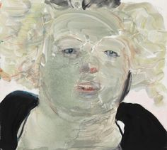 Marlene Dumas » Survey: Selected Works » David Zwirner Self Portrait at Noon 2008 Oil on canvas 35 2/5 x 39 3/8