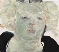 Marlene Dumas » Survey: Selected Works » David Zwirner Self Portrait at Noon 2008 Oil on canvas 35 2/5 x 39 3/8