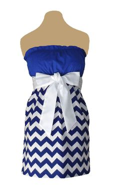 www.gameondresses... Game Day Chevron! Rock your school colors on game day, for rush or around campus with the Blue and White chevron dress, just $39.99. We have over 65 dresses in all the great school colors. Go Kentucky Wildcats! Go Duke Blue Devils! Go Georgia State Panthers! Go Tennessee State Tigers! Go Penn State Nittany Lions!