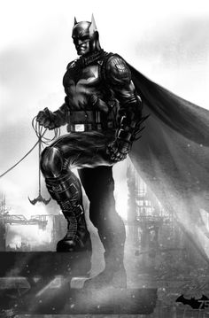 Batman by Jed Thomas