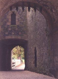 Public Entrance to Arundel Castle from Inside the Castle