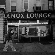 Die Lenox Lounge am Malcolm X Blvd., New York City