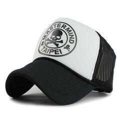 77554fee36f75 Breathable Summer Female Baseball Caps Woman Hat Skull Mesh Cap Fitted  Trucker Bone Hats For Women Men