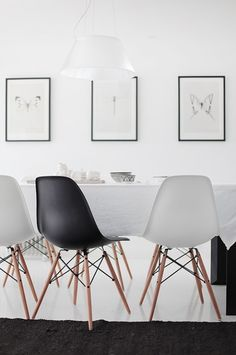 Eames chairs to mix with current chairs