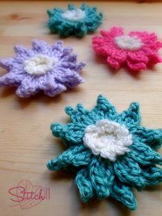 Crochet Water Lily Flower
