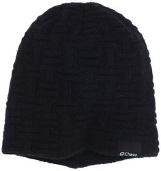 Chaos Men's Lutke Texture Cashmere Beanie (Black, One Size) by Chaos. $31.99. Chaos Lutke beanie is made from Recycled Cashmere yarns , so you can keep your head warm and help protect the enviroment at the same time .  this cashmere yarn is so soft you will never want to take this beanie off . The textured knit makes this beanie very fashionable that it can be worn on the mountain and in the city on a cold winter night .. Save 20% Off!
