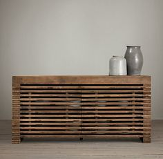 Restoration Hardware $2395 Custom size and function required, but like this as a credenza