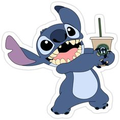Decorate laptops, Hydro Flasks, cars and more with removable kiss-cut, vinyl decal stickers. Glossy, matte, and transparent options in various sizes. Super durable and water-resistant. 626 Cute Stitch, Lilo And Stitch, Stitch Drawing, Stitch And Angel, Snapchat Stickers, Character Wallpaper, Aesthetic Stickers, Printable Stickers, Cartoon Wallpaper