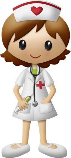 nurse illustration/clipart Más