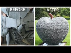 SELF TAUGHT ARTIST | CREATING an APPLE SCULPTURE in my STUDIO - YouTube