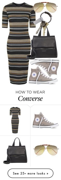 style-by-rachel | featuring Topshop, Converse, CB2, Givenchy and Valentino