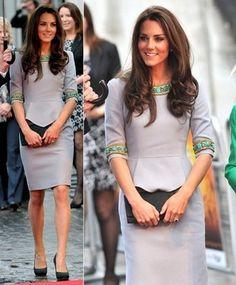 Catherine, Duchess of Cambridge in Matthew Williamson